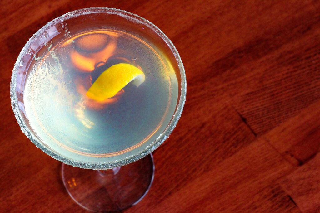 lemon-drop martini