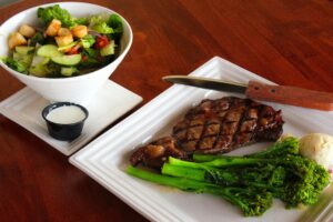 Ribeye Steak at Katy Vibes in Katy, TX