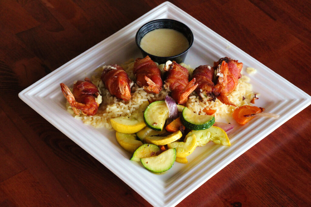 shrimp brochette