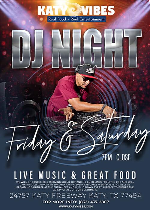 FRI & SAT DJ Night